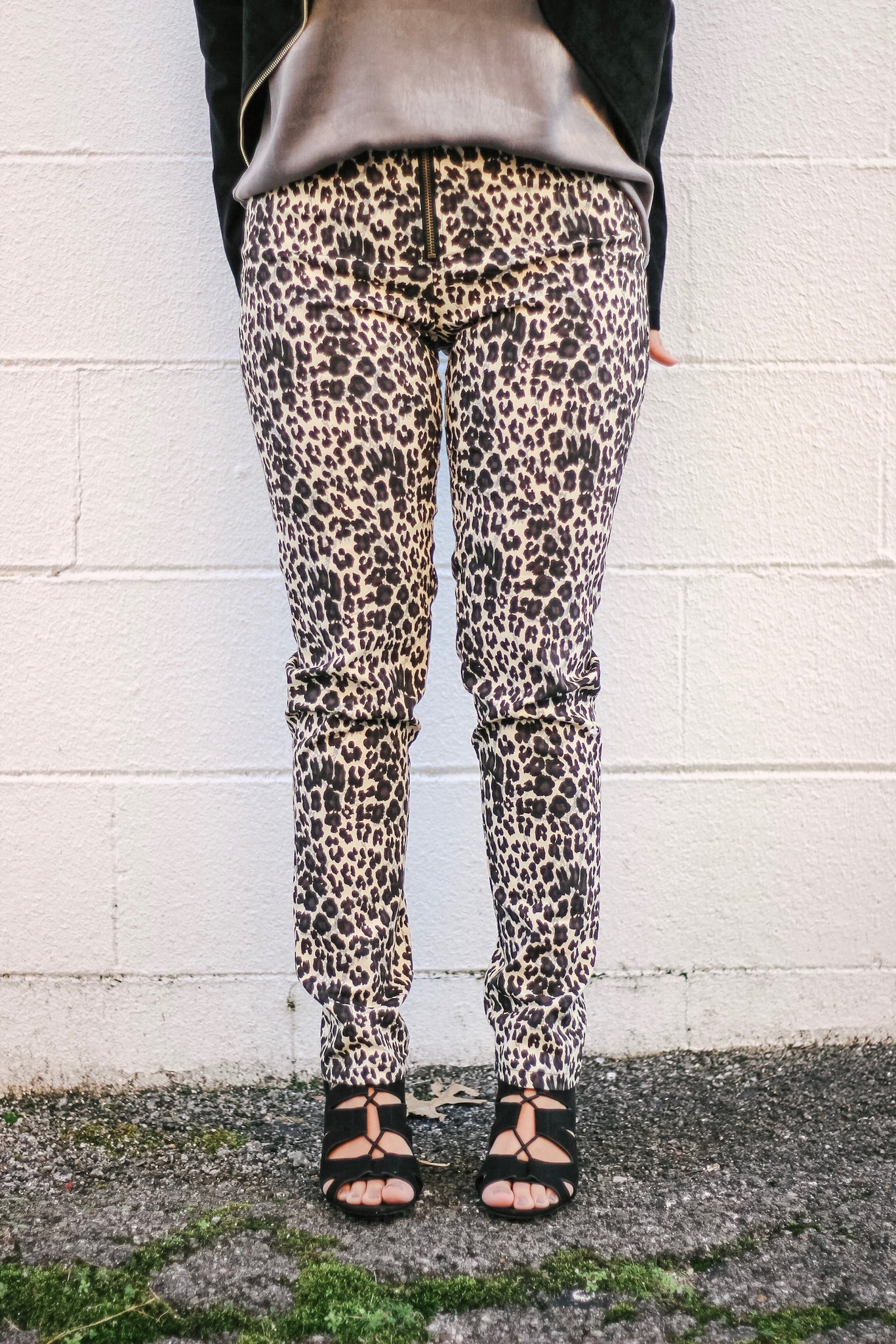 Legs Of Leopard Pants