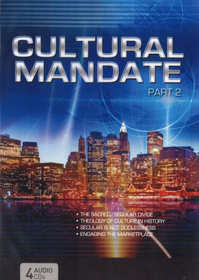 Cultural Mandate (Blue Cover) Part 2, 4CD, English