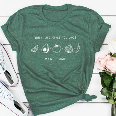 When Life Gives You Limes Make Guac - Eco Tee