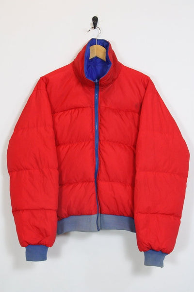 Columbia Jacket medium / red Vintage Columbia Reversible Puffer Jacket