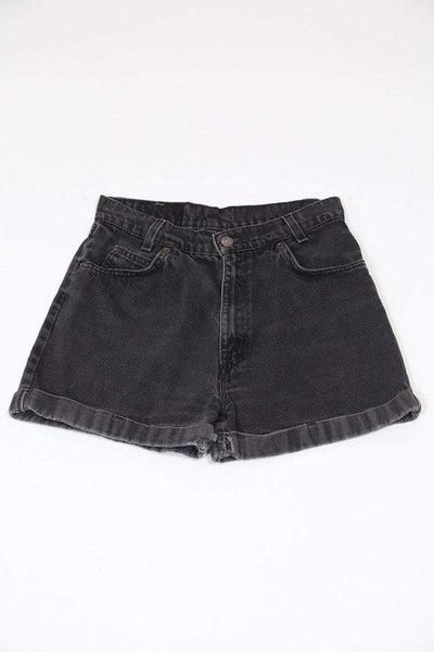 Levis Shorts Vintage Levi's Black Denim Shorts