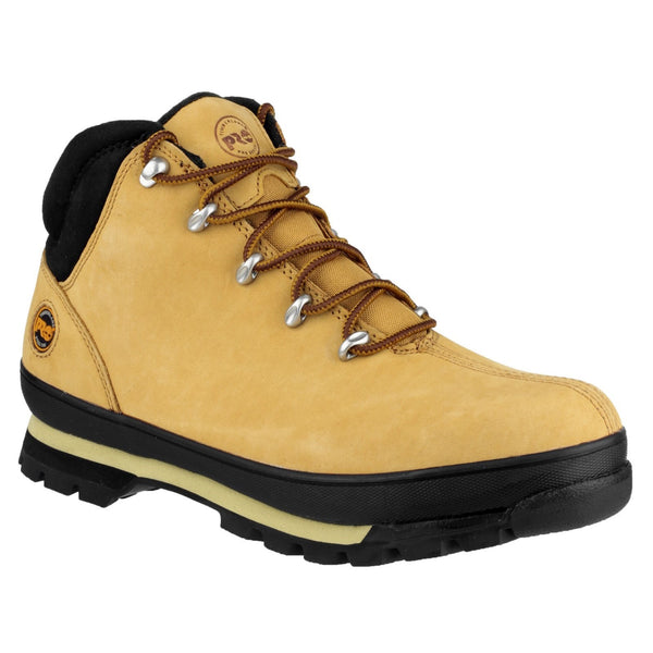 Wheat Splitrock Lace Up Safety Boot