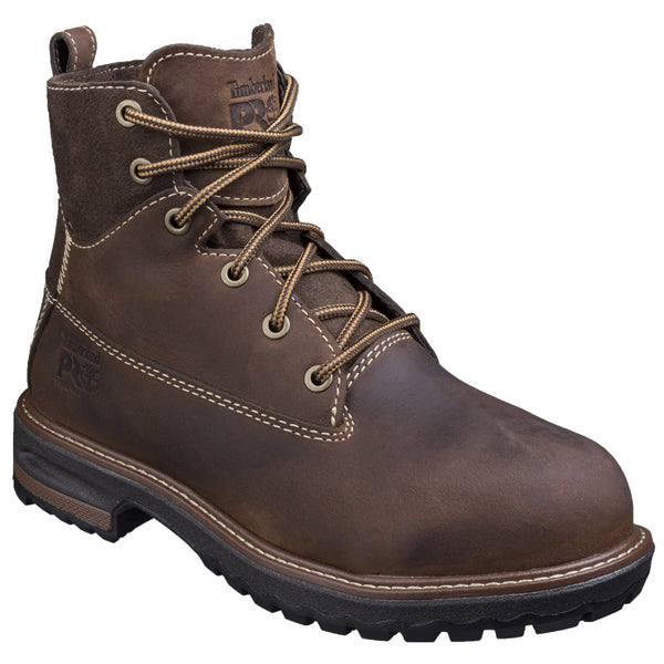 Kaffee Hightower Lace-up Safety Boot