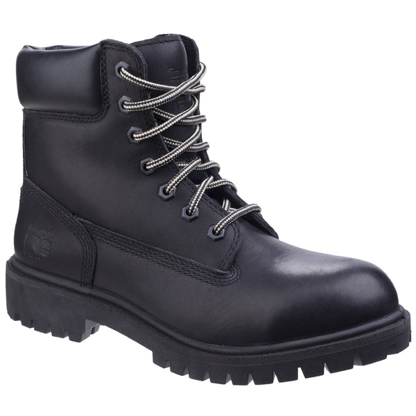 Black Direct Attach Lace up Safety Boot