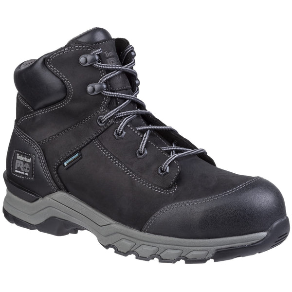 Black Hypercharge Lace Up Safety Boot