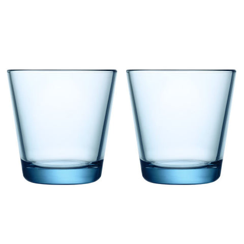 Iittala Kartio Light Blue Tumbler 0.21L (Pair)