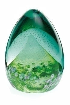 Caithness Glass Alpine Peak Nature Paperweight 9cm by 6.8cm