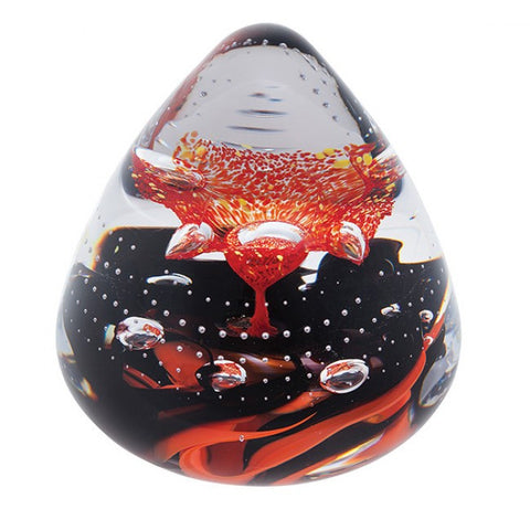 Caithness Glass Abstract Extravaganza Paperweight