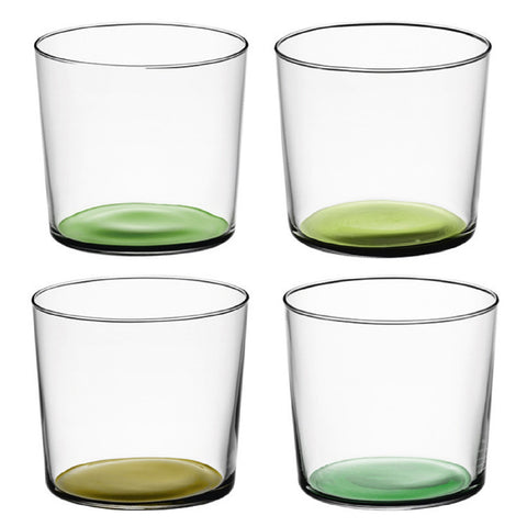 LSA Coro Leaf Set of 4 Tumblers 310ml