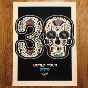 30th Anniversary Autographed World Tour Poster