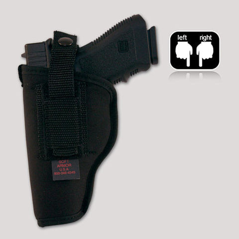Hip holster for Glock, Ruger, Springfield and similar