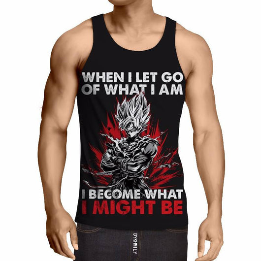 Goku - Become What I Might Be Tanktop