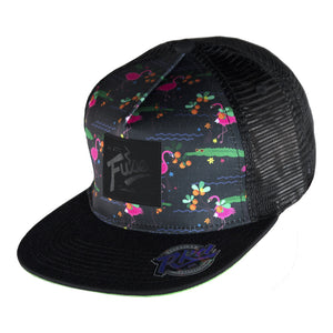 Snapback Flamingo Unisex Hat with Florida Vibes Design