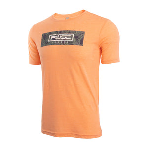 Salmon Mens T-shirt with Palm Design small medium large xl