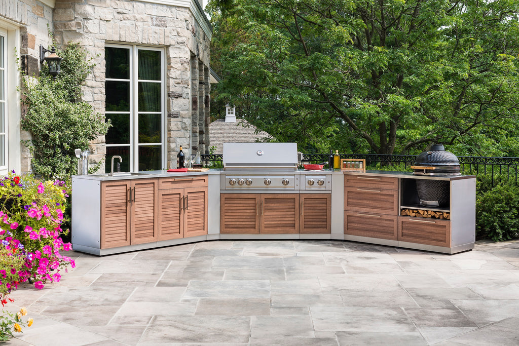 "Grove / Include Covers & Countertops / 40"" Grill & Grill Cabinet"