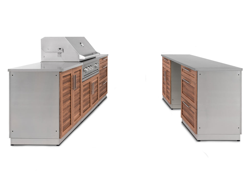 "Grove / Include Covers & Countertops / 33"" Grill & Grill Cabinet"