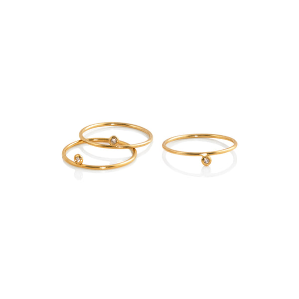 Helix Stacked Ring Set - Ring Chorthip