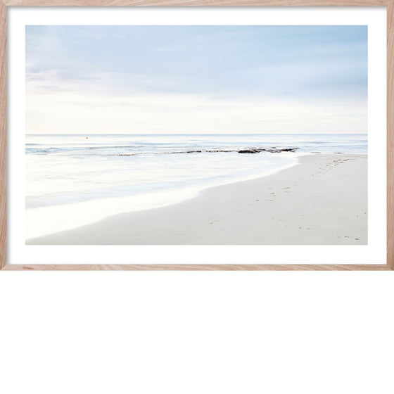 BEACH DAYS #1 * Contemporary and Hampton's style coastal artwork