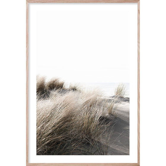 BY THE DUNES #1 * Coastal photographic fine art print of sand dune