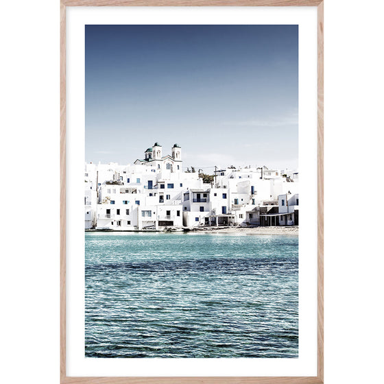 MEDITERRANEAN BLUE #3* Photographic Greek Island fine wall art print