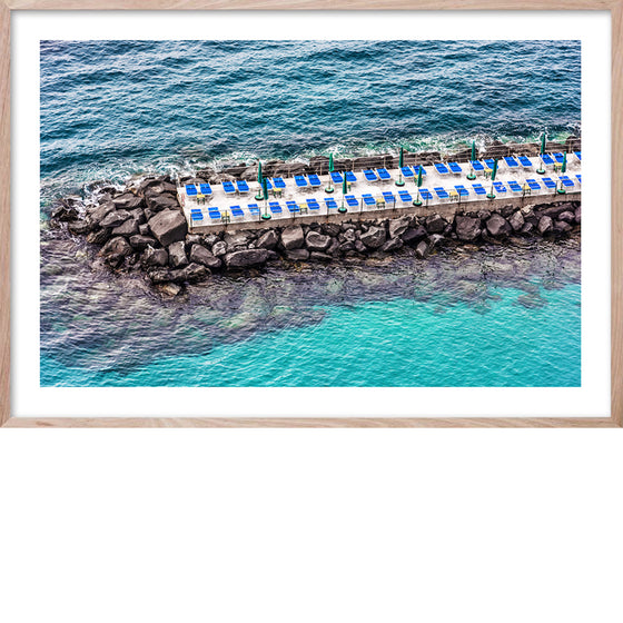 Sorrento Pier- Italian Coast, Photographic wall art and fine art print