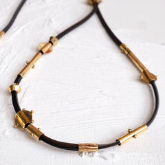 Amazigh Strand Necklace - Black