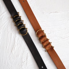 Hebba Leather Choker - Black