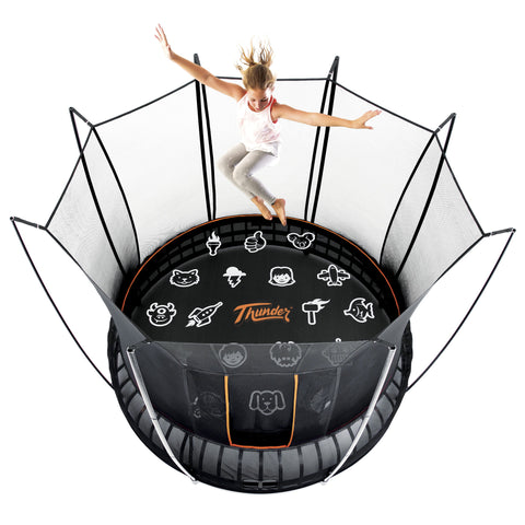 birds Eye view Vuly Thunder 12 foot Trampoline