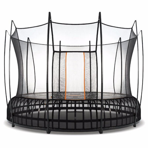 Vuly Thunder 12 foot Trampoline Innovative tool-free assembly with leaf spring technology and enclosure