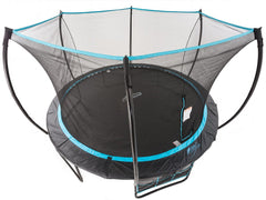 SkyBound Cirrus 14ft trampoline with Enclosure System top view