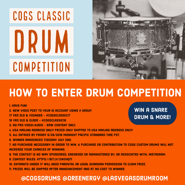 Cogs Classic Drum Competition 2019
