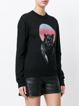 Panther Jacquard Sweater