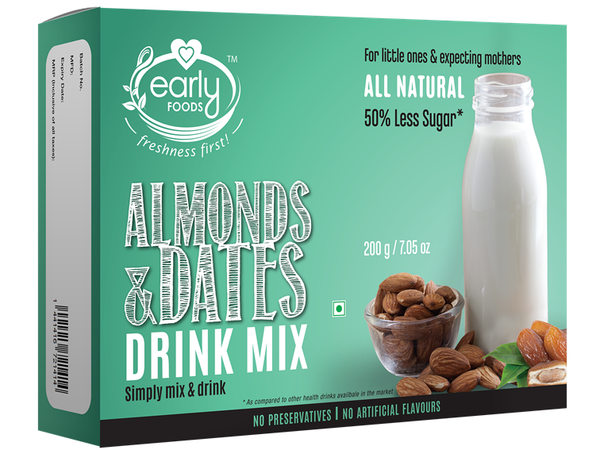 Early Foods Badam & Date Drink 200g