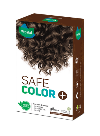 Vegetal Safe Colour Dark Brown