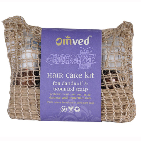Omved Hair Care Kit For Dandruff and Troubled Scalp