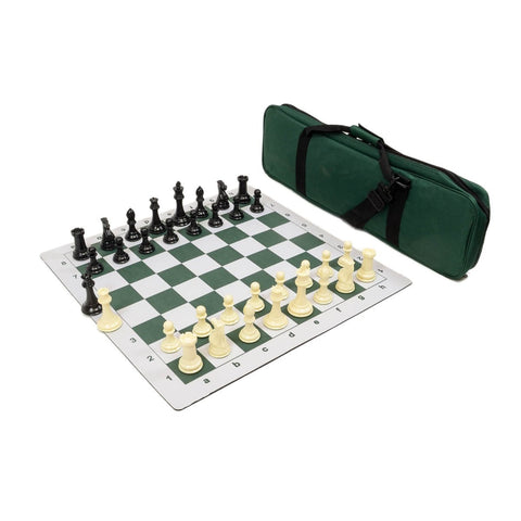 Sage Arcade Premier Tournament Chess Combo Set Chess WBG