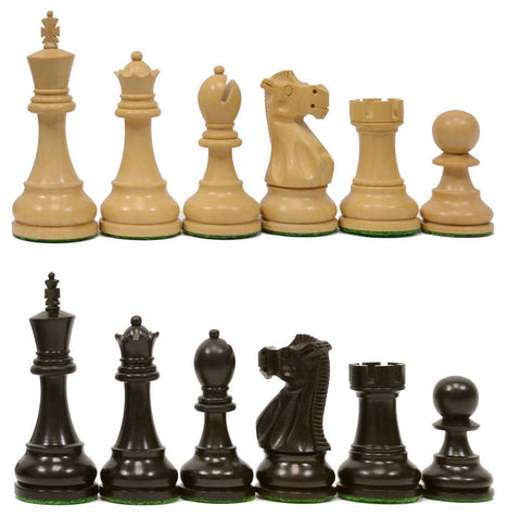 Sage Arcade Reykjavik Chess Pieces Rosewood, Sheesham, Ebonized Chess WBG