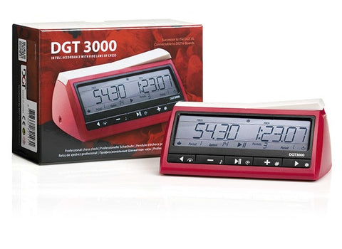 Sage Arcade DGT 3000 Digital Chess Clock Chess WBG