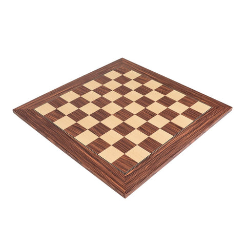 Sage Arcade Deluxe Rosewood Wood Chess Board Chess WBG
