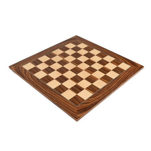 Sage Arcade Deluxe Santos Palisander Wood Chess Board Chess WBG