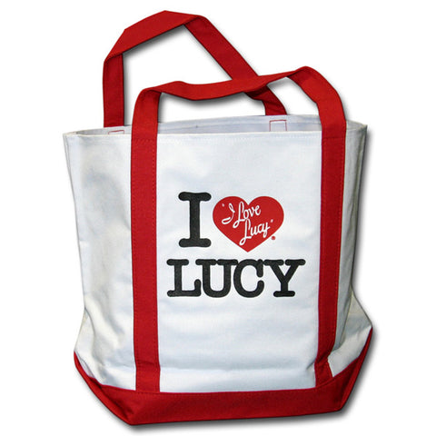 I Love Lucy NY Style Tote Bag