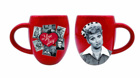 I Love Lucy Red Image Mug