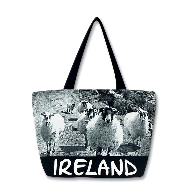 Ireland Sheep Shopper - Small B&W