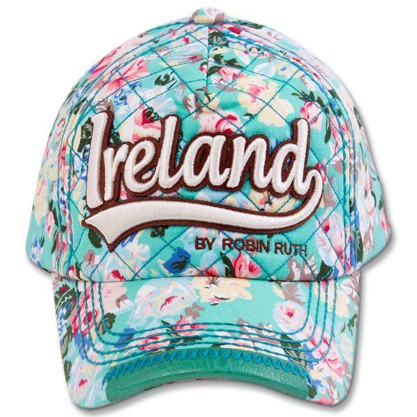 Ireland Floral Cap - Green, Navy or White