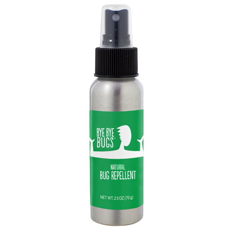 Bye Bye Bugs - Natural Bug Spray - Mini Size