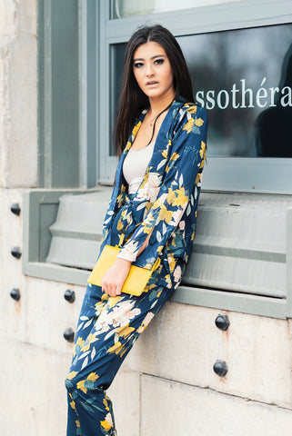 Floral Jacket and Pants