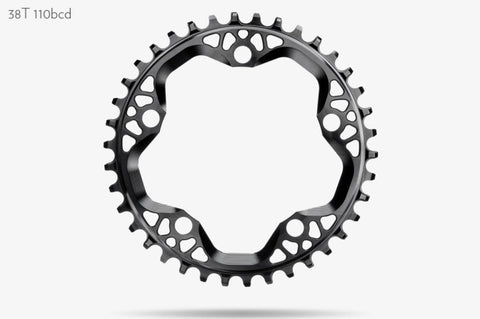 Round CX1 110x5 Chainrings