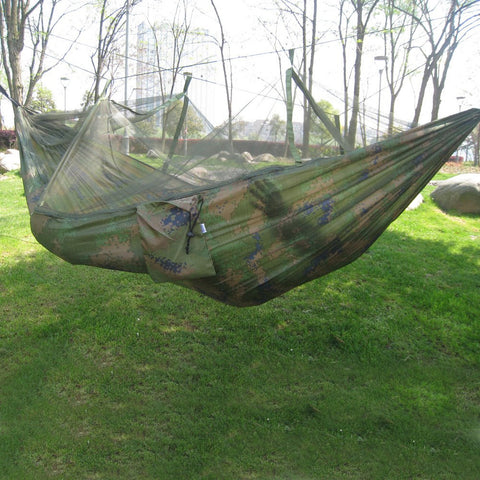 Image of Portable Military Hanging Hammock Bed