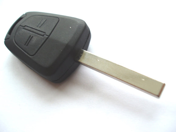 Replacement 2 button key case for Vauxhall Agila Meriva Zafira remote fob