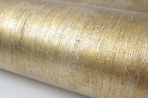 Lime Gold Pearl Interior Film Contact Paper Self Adhesive Peel-Stick Removable Wallpaper 6.5ft